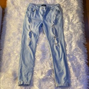 Forever 21 push up jeans